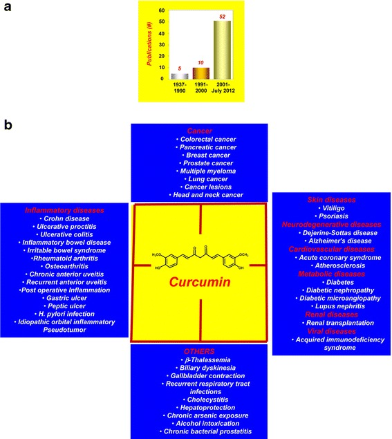 curcumin clinical studies